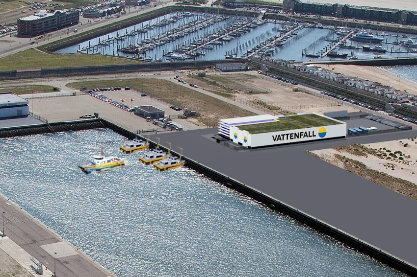 Haven IJmuiden onderhoudshub voor windpark