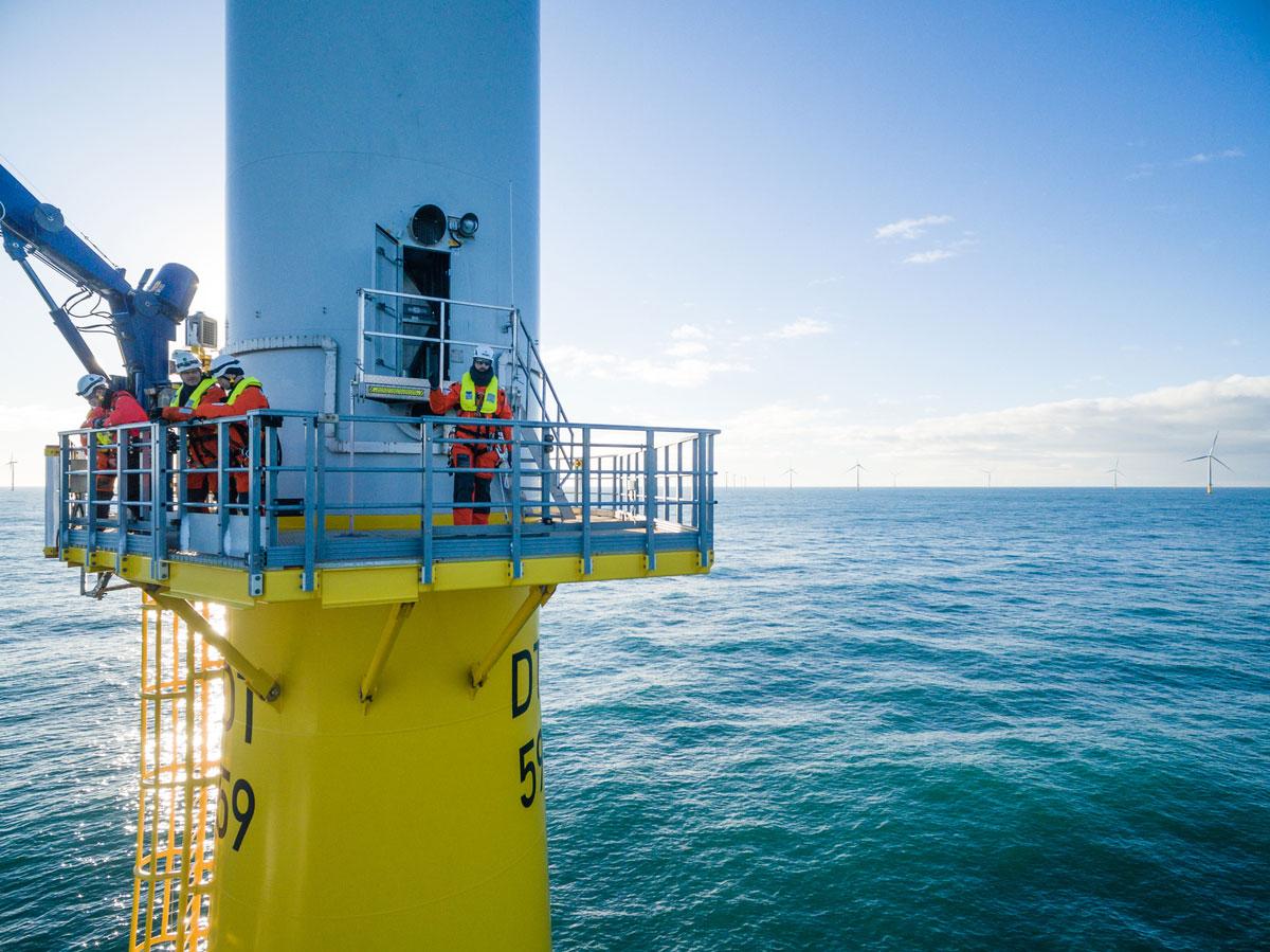 Offshore Windfarm Noordzee